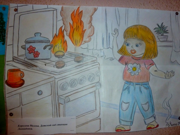 Противопожарная безопасность для детей в картинках