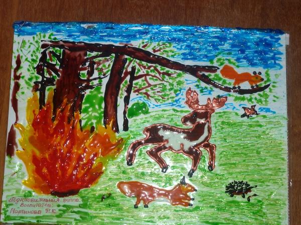 Рисунки сельское хозяйство глазами детей